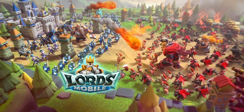 Kostenlose Spiele-Apps - das sind Bilder zum Spiel Lords Mobile Update