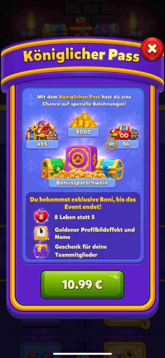 Kostenlose Spiele-Apps - das sind Bilder zum Spiel Royal Match
