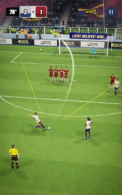 Soccer Super Star - wer kommt an der Mauer vorbei?