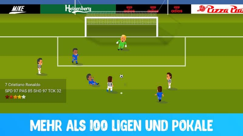 World Soccer Champs bietet euch über 100 Ligen