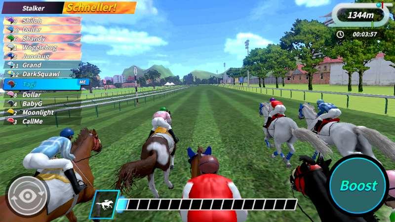 Derby-Leben ist eine Pferdesimulation