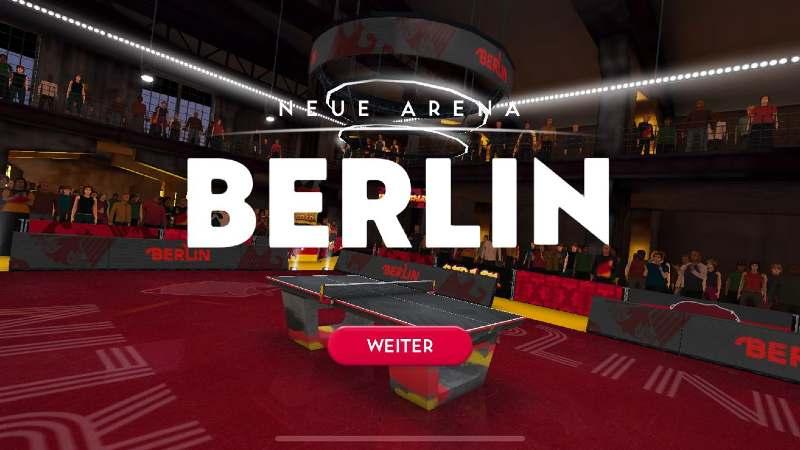 Ping Pong Fury lässt euch in viele Metropolen spielen - so auch in Berlin