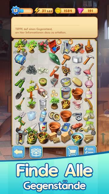 Findet ihr alle Gegenstände in Merge Mansion?