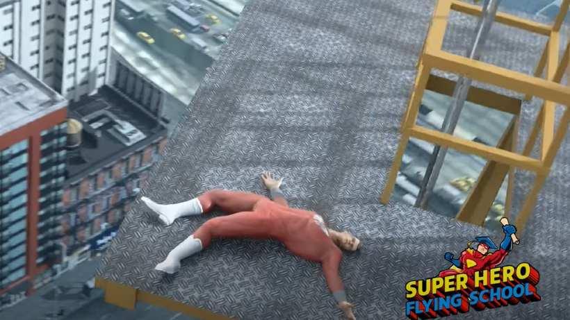 Super Hero Flying School