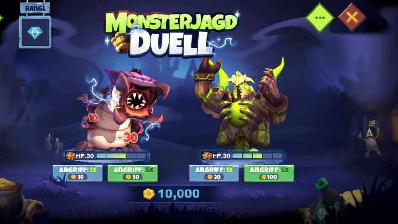 Monsterjagd Duell