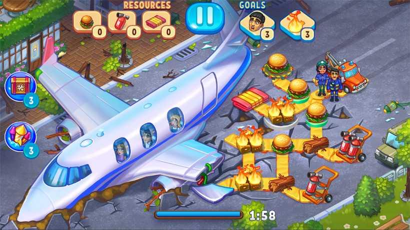 Kostenlose Spiele-Apps - das sind Bilder zum Spiel Rescue Dash