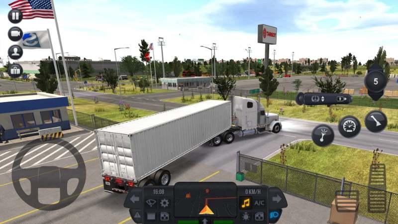 Truck Simulator  - es gibt verschiedene Kameraeinstellungen