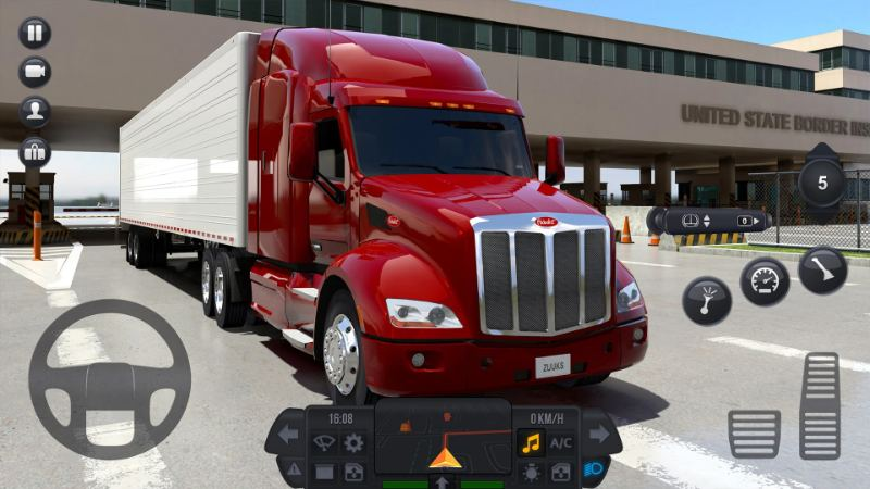Truck Simulator  bietet euch 32 Trucks